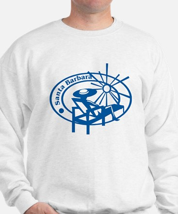 Santa Barbara Passport Stamp Sweatshirt