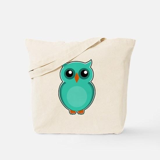 Cute Owl tree Tote Bag