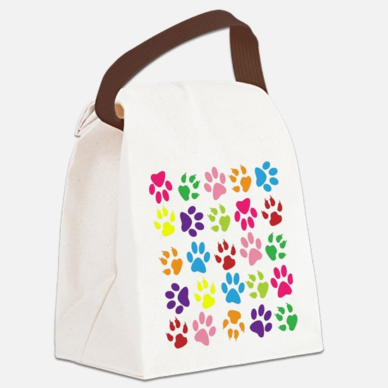 Cute Pets Canvas Lunch Bag