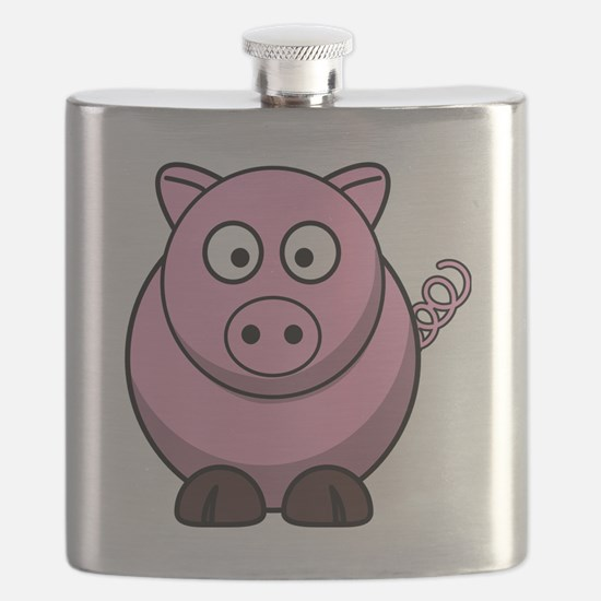 Cute Pig themed Flask