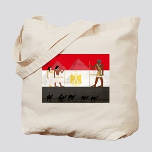 Egyptian Graphic Tote Bag