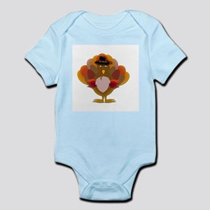 Cute Thanksgiving Turkey Body Suit