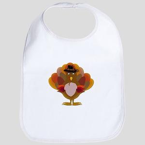 Cute Thanksgiving Turkey Bib
