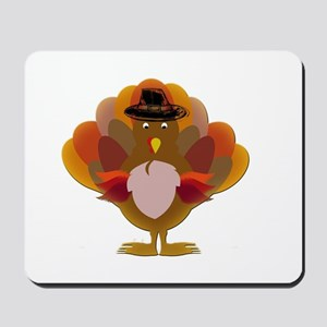 Cute Thanksgiving Turkey Mousepad