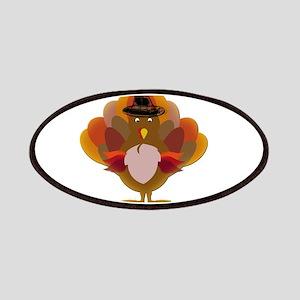Cute Thanksgiving Turkey Patch