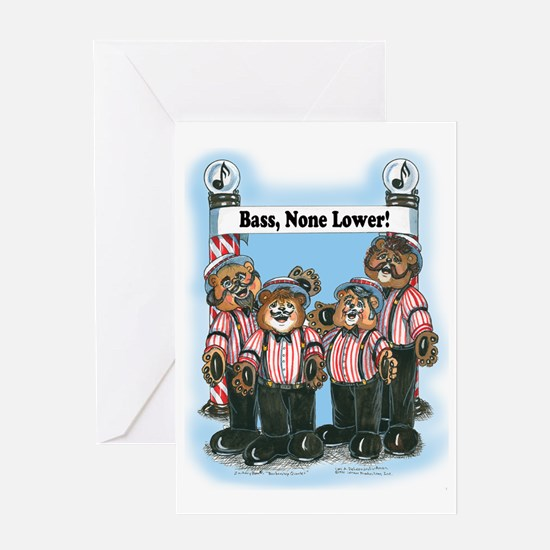 Bass, Male - Harmony Greeting Card