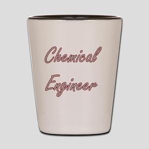 Chemical Engineer Artistic Job Design Shot Glass