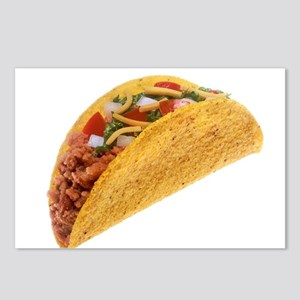 Hard Shell Taco Postcards (Package of 8)