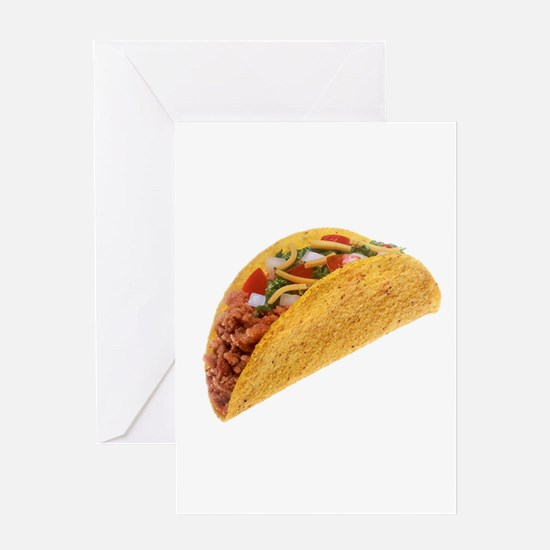 Hard Shell Taco Greeting Cards