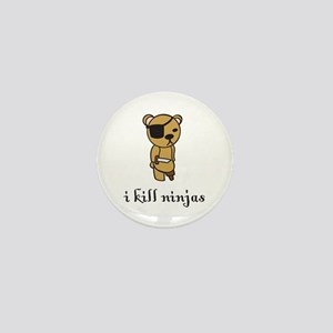 i kill ninjas Mini Button