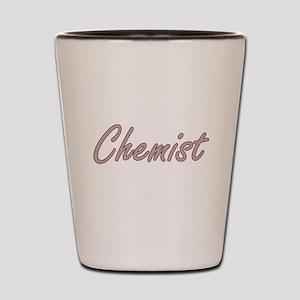 Chemist Artistic Job Design Shot Glass