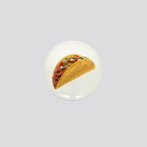 Hard Shell Taco Mini Button