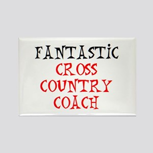 fantastic cross country coach Rectangle Magnet