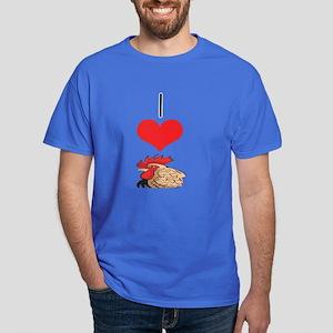 Chicken/Rooster Dark T-Shirt