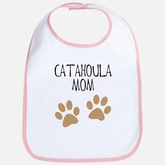 Catahoula Mom Bib