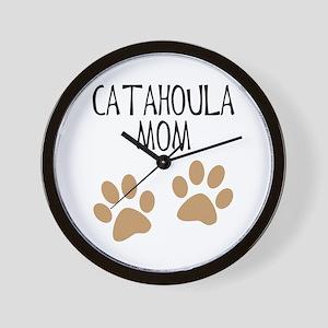 Catahoula Mom Wall Clock