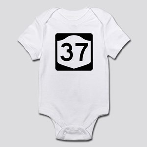 State Route 37, New York Infant Bodysuit