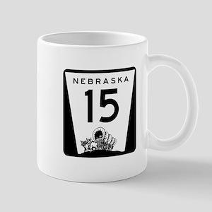 Highway 15, Nebraska Mug