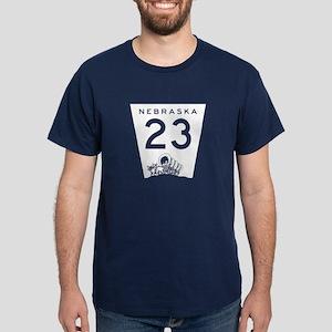 Highway 23, Nebraska Dark T-Shirt