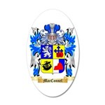 MacConnel 20x12 Oval Wall Decal