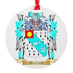 MacCone Round Ornament