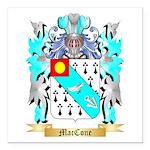 MacCone Square Car Magnet 3