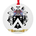 MacComie Round Ornament