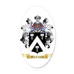 MacCombe Oval Car Magnet