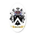 MacColm Oval Car Magnet