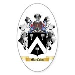 MacColm Sticker (Oval 50 pk)