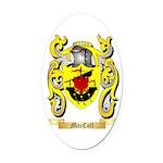 MacColl Oval Car Magnet