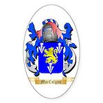 MacColgan Sticker (Oval 10 pk)