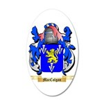MacColgan 20x12 Oval Wall Decal
