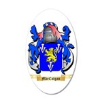 MacColgan 35x21 Oval Wall Decal