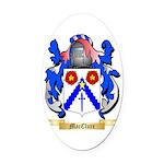 MacClure Oval Car Magnet