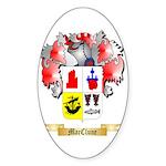 MacClune Sticker (Oval 10 pk)