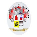 MacClune Ornament (Oval)