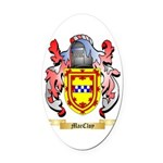 MacCloy Oval Car Magnet