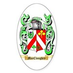MacCloughry Sticker (Oval)