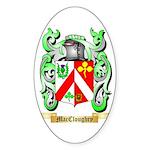 MacCloughry Sticker (Oval 50 pk)