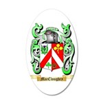 MacCloughry 20x12 Oval Wall Decal