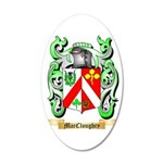MacCloughry 35x21 Oval Wall Decal