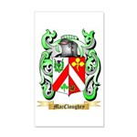 MacCloughry 35x21 Wall Decal