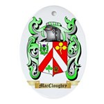 MacCloughry Ornament (Oval)