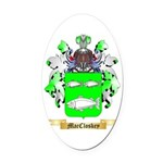 MacCloskey Oval Car Magnet