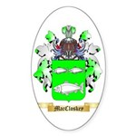 MacCloskey Sticker (Oval 50 pk)