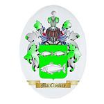MacCloskey Ornament (Oval)