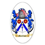 MacCloor Sticker (Oval 10 pk)