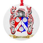 MacClintock Round Ornament