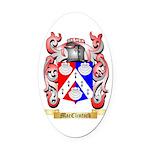 MacClintock Oval Car Magnet